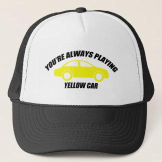 Casquette Vous jouez toujours la voiture jaune