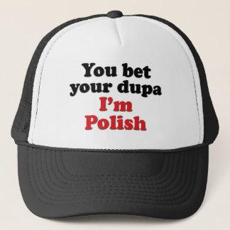 Casquette Vous pariez votre Dupa que je suis polonais
