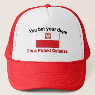 Casquette Vous pariez votre dupa que je suis Polski Dziadek