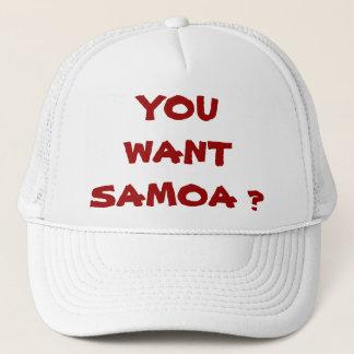 CASQUETTE VOUS VOULEZ LE SAMOA ?