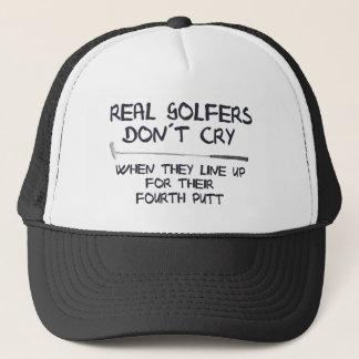 Casquette Vrai cri de don´t de golfeurs