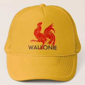 Casquette wallonie de wallon de coq