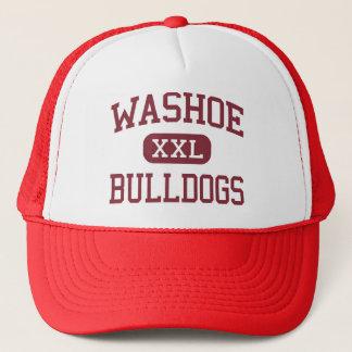 Casquette Washoe - bouledogues - lycée - Reno Nevada