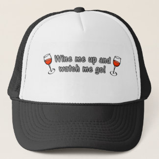 Casquette Wine je et m'observe aller !