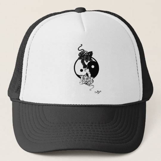 Casquette Ying yang tiger