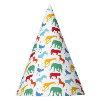Casquettes animaux de fête d'anniversaire de chapeaux de fètes
