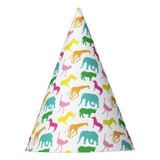 Casquettes animaux de fête d'anniversaire de fille chapeaux de fètes