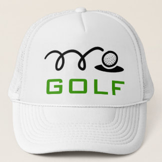 Casquettes blancs de golf pour les hommes et des