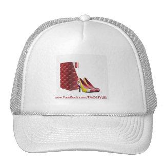 Casquettes de camion de chaussures de femmes de