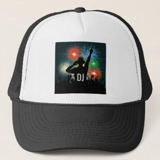 Casquettes de coutume du DJ de musique