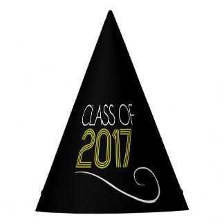 Casquettes de fête de remise des diplômes - 2017 chapeaux de fètes