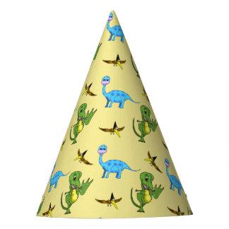 Casquettes de partie de dinosaures chapeaux de fètes