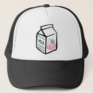 Casquettes organiques de planète de lait cru