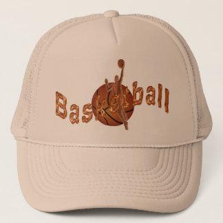Casquettes plats de Bill de basket-ball de cuivre