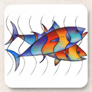 Cassanella - poisson rêveur sous-bock