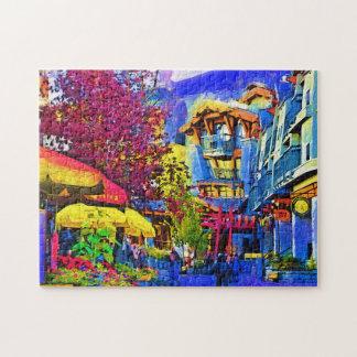 Casse-tête de Whistler de rue principale Puzzle
