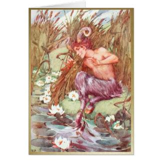 Casserole - DANS les ROSEAUX - carte vierge