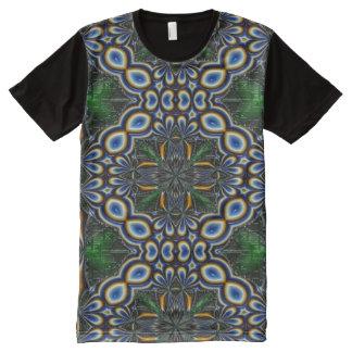 Casserole imprimée américaine de l'habillement des t-shirt tout imprimé