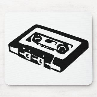 Cassette audio tapis de souris