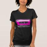 cassette d'étiquette de rose des années 80 t-shirts