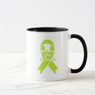 Cassez le stigmate - tasse blanche
