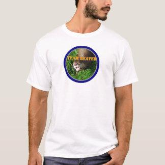 Castor d'équipe t-shirt