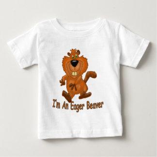 Castor désireux t-shirt pour bébé