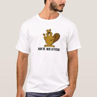 Castor gentil t-shirt