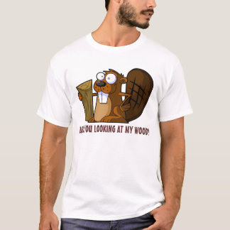 Castor grossier drôle t-shirt
