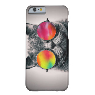 CAT DANS L'ESPACE COQUE BARELY THERE iPhone 6