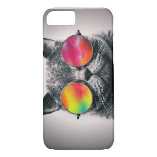 CAT DANS L'ESPACE COQUE iPhone 7
