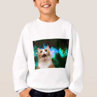 CAT DE GALAXIE SWEATSHIRT
