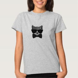 CAT FRAIS DU HIPPIE BOWTIE T-SHIRTS