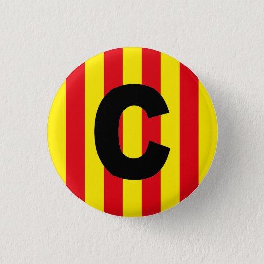 Catalan Catalogne Català Espagne Pin Button Badge
