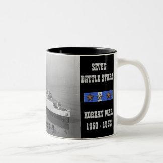 CATAMOUNT D'USS (LSD-17) TASSE À CAFÉ