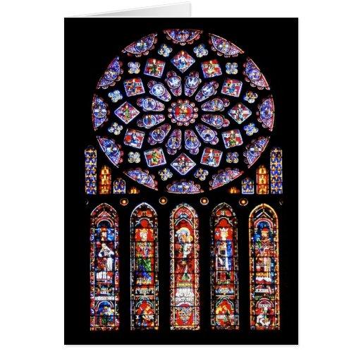 Cathdrale Notre-Dame De Chartres Cartes De Vœux