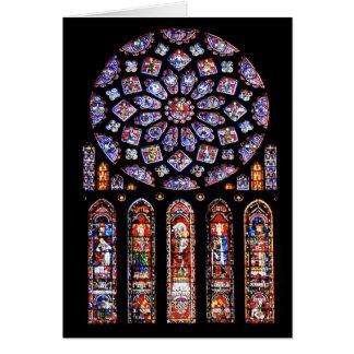 Cathdrale Notre-Dame De Chartres Carte De Vœux