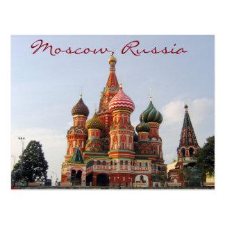 Cathedrale célèbre de St Basil de Moscou Cartes Postales