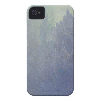 Cathédrale de Claude Monet | Rouen, temps brumeux Coques iPhone 4