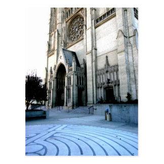 Cathédrale de grâce cartes postales