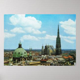 Cathédrale de l'Autriche, Vienne, St Stephen Posters