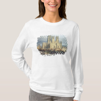 Cathédrale de Lincoln du nord-ouest, c.1850 T-shirt