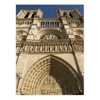 Cathédrale de Notre Dame à Paris Cartes Postales