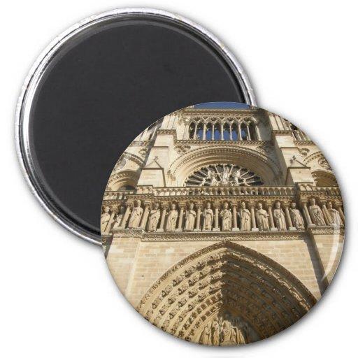 Cathédrale de Notre Dame à Paris Aimants Pour Réfrigérateur
