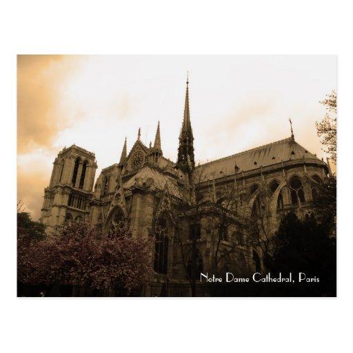Cathédrale de Notre Dame Carte Postale