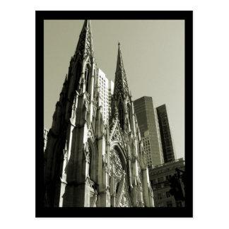 Cathédrale de NYC St Patrick Carte Postale