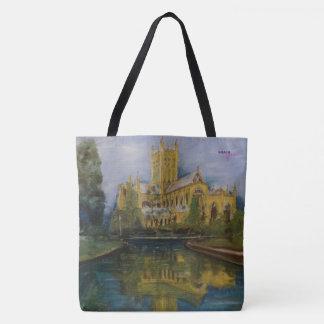 Cathédrale de puits - R-U Tote Bag