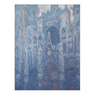 Cathédrale de Rouen, temps clair par Claude Monet Carte Postale