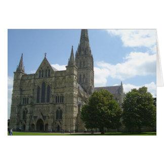 Cathédrale de Salisbury Carte De Vœux