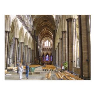 Cathédrale de Salisbury Carte Postale
